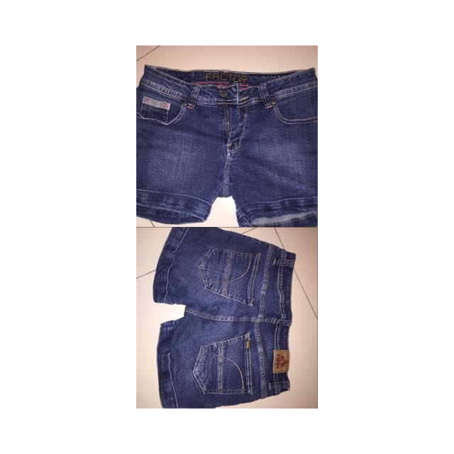 FACTOR DENIM SHORTS (size:28)