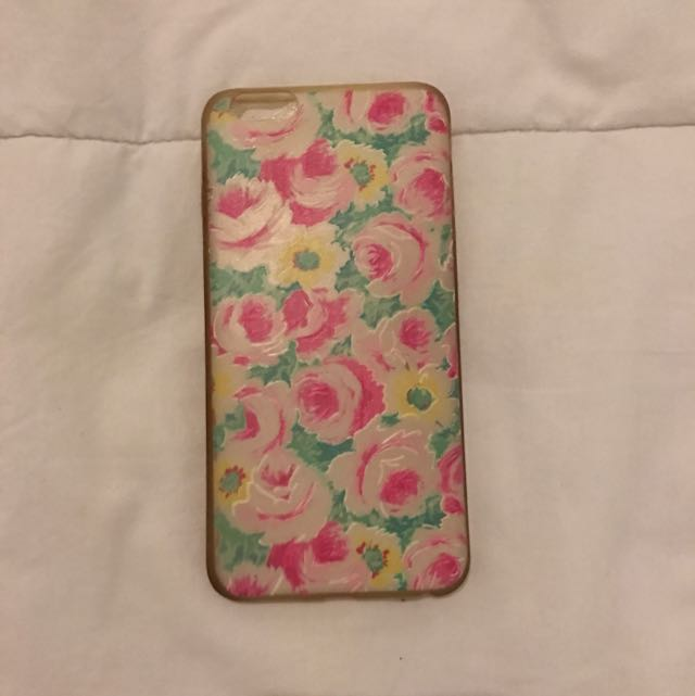 Flowery Casing (Iphone 6 Plus)