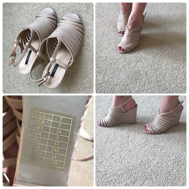 Forever 21 Cage Heels