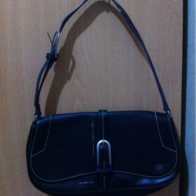 Fortune Duck leather handbag