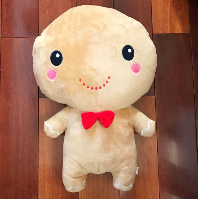 Gingerbread man plush toy