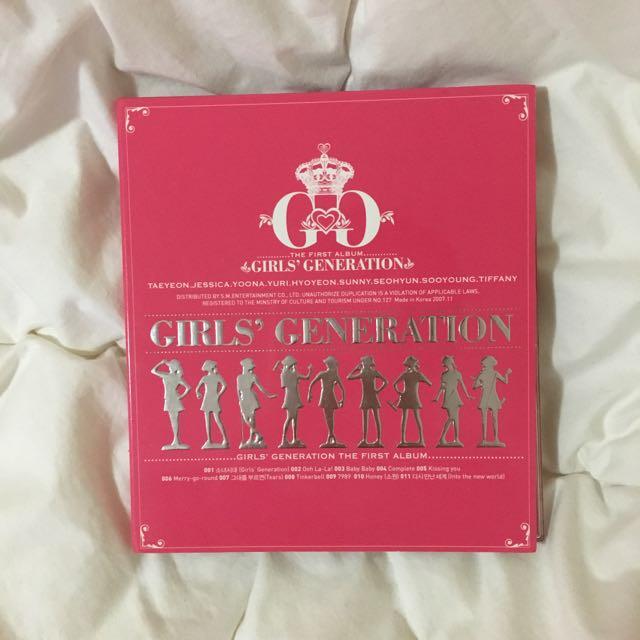 Girls Generation First Album