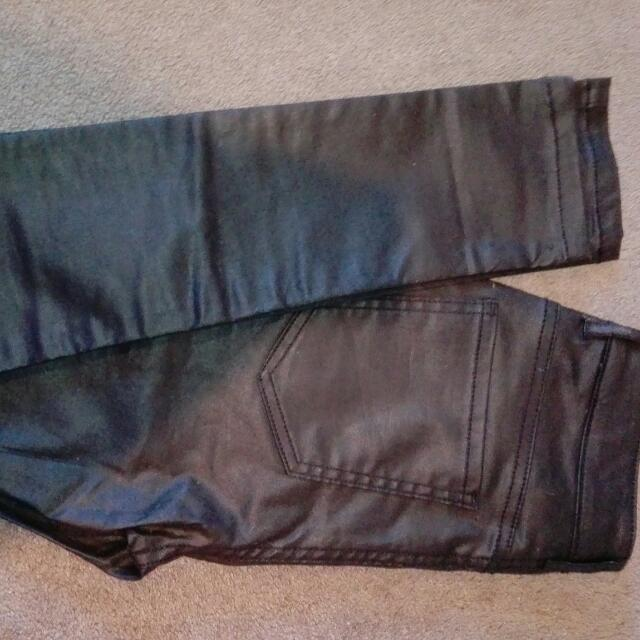 Glassons Leather Jeans