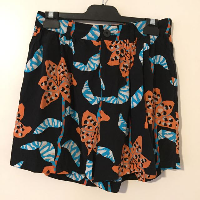 Gorman Rococo Lily Silk Shorts