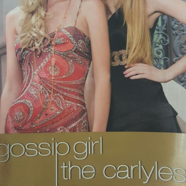 Gossip Girls: The Carlyles Preloved Book Cheap Cebu