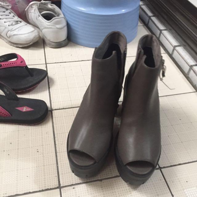 Grace Gift 高根短靴 魚口