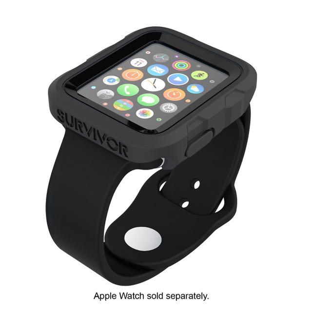 huge selection of b65b1 affa9 Griffin Survivor Tactical Case Black (Apple Watch 42mm)