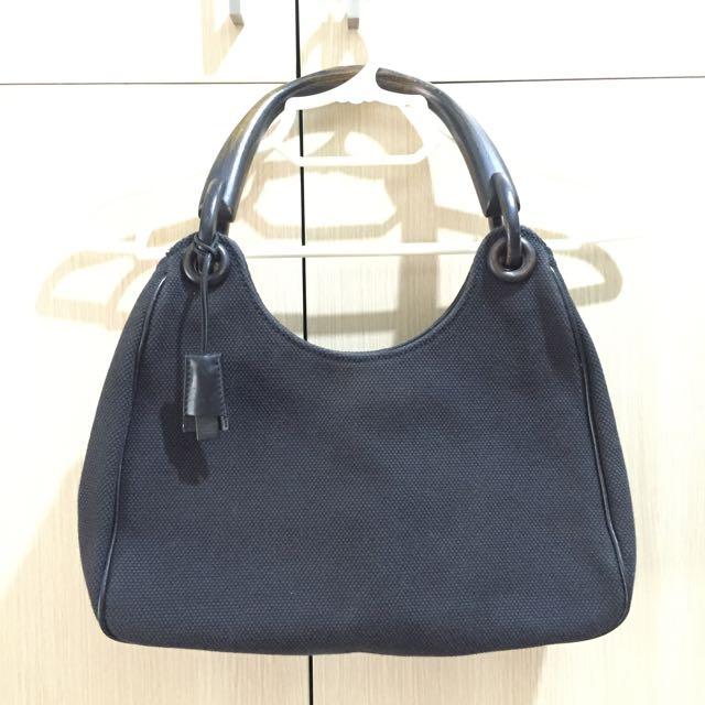 Gucci Wooden Hand Bag