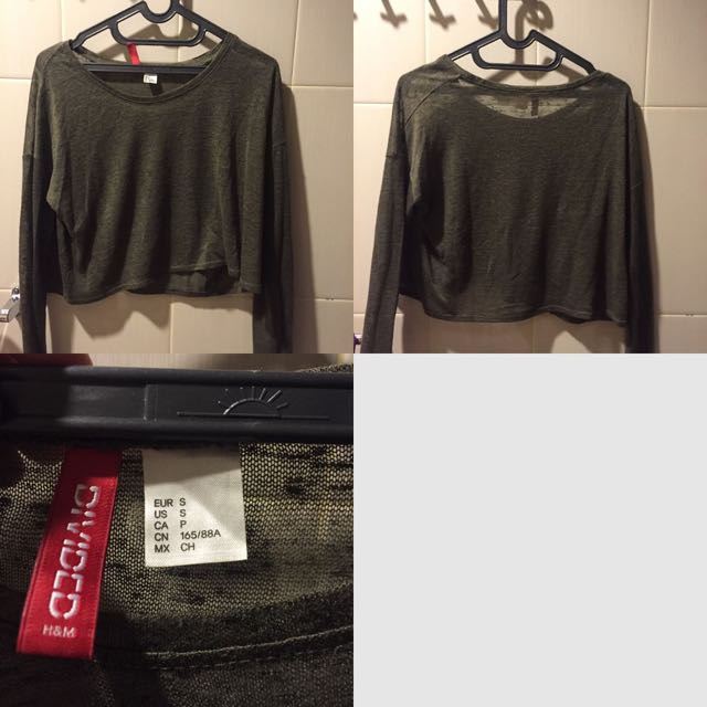 H&M Basic Long Sleeve (size: S)