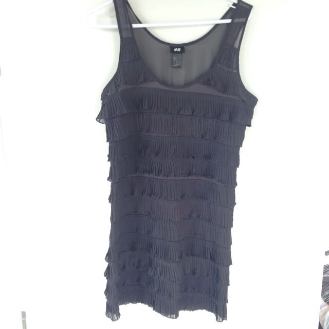 H&M Frill Dress Size XS