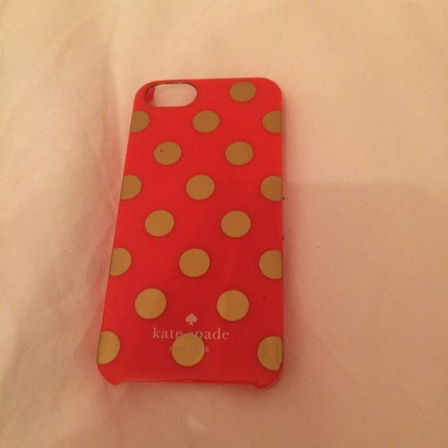 Kate Spade iPhone 5s phone case
