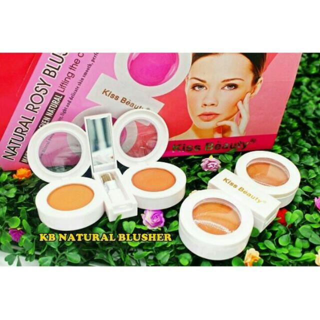 KB NATURAL ROSY BLUSHER / KISS BEAUTU NATURAL ROSY BLUSHER