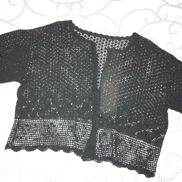 Laced-type Bolero / cover-up / blazer