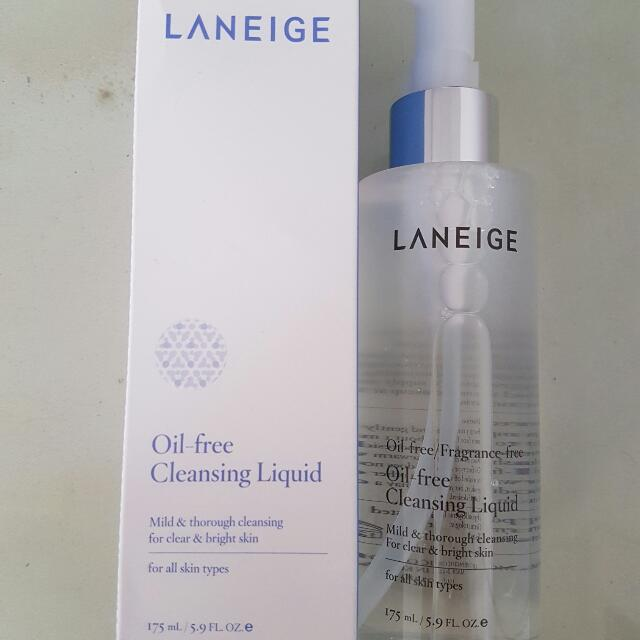 Laneige Oil Free Cleansing Liquid