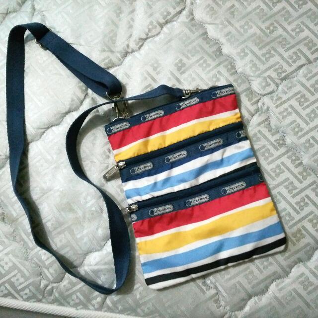 REPRICED lesportac sling bag