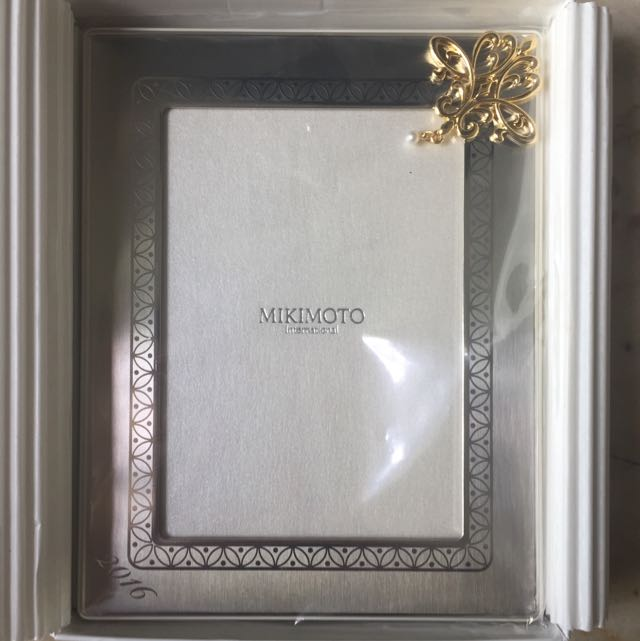 Limited Edition Mikimoto Photo Frame With Pearl, Furniture, Home ...