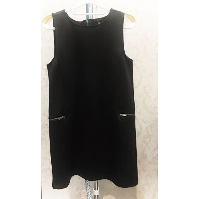 Little Black Dress with Zips
