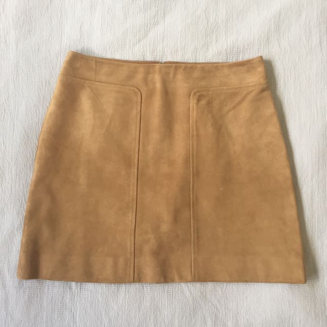 MARCS Suede Skirt