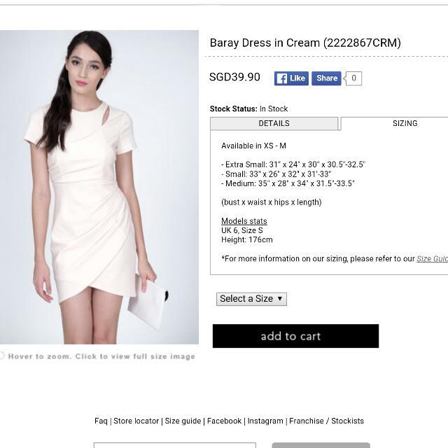a39e13da295 MDS Baray Dress In Cream