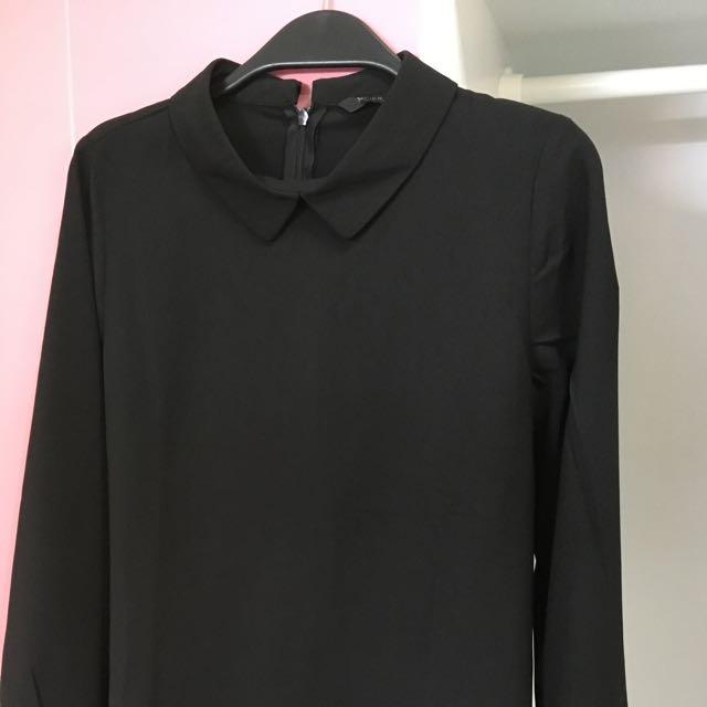 黑色襯衫MEIER Q