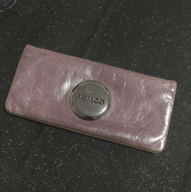 Mimco Gothic Purple Mim Wallet
