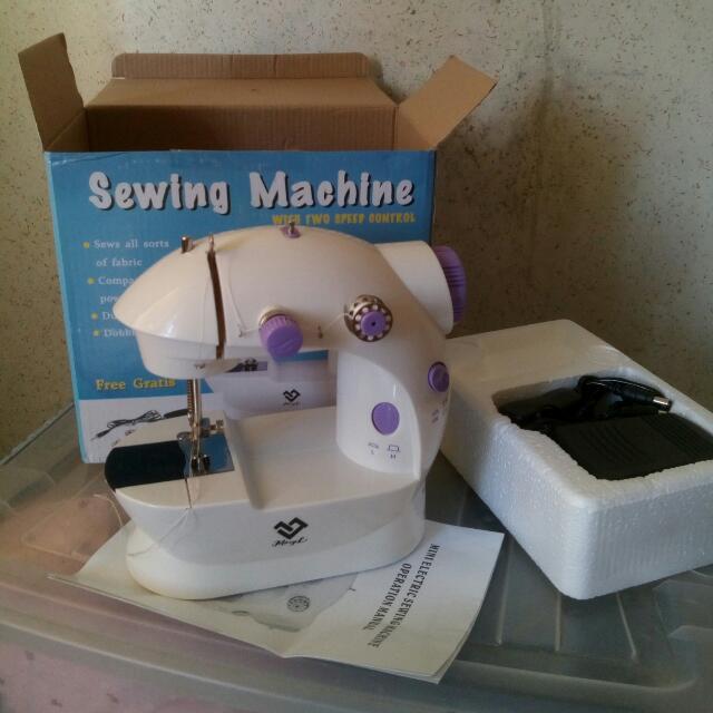 Mini Portable Sewing Machine (WITH FREEBIES)