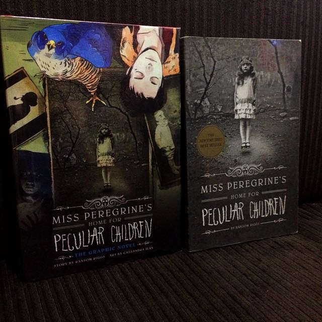 Miss Peregrine's Home For Peculiar Children Novel + Graphic Novel By Ransom Riggs