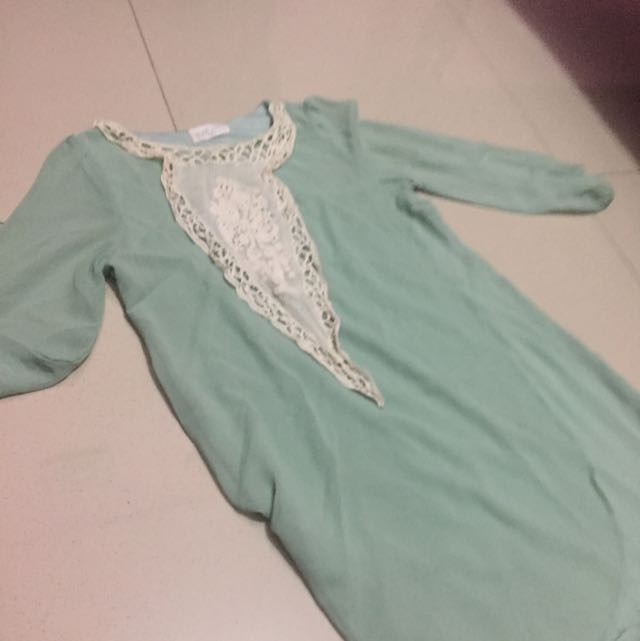 MOST Abaya Mint