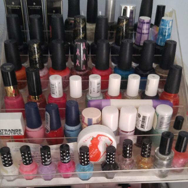Nail polishes: opi, Essie, etude house, more