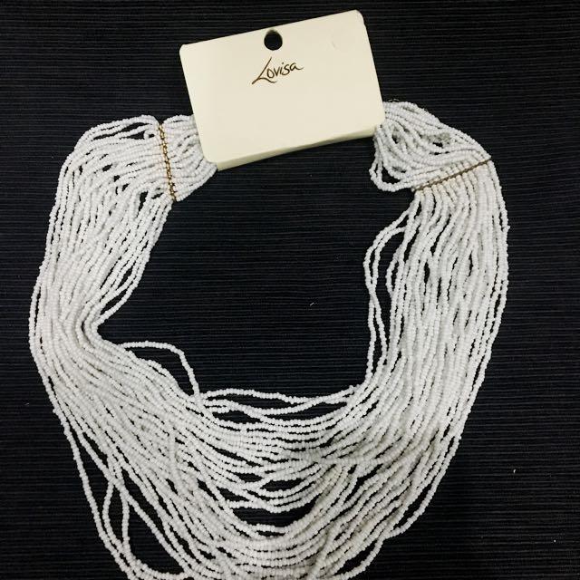 NEW lovisa White Necklace