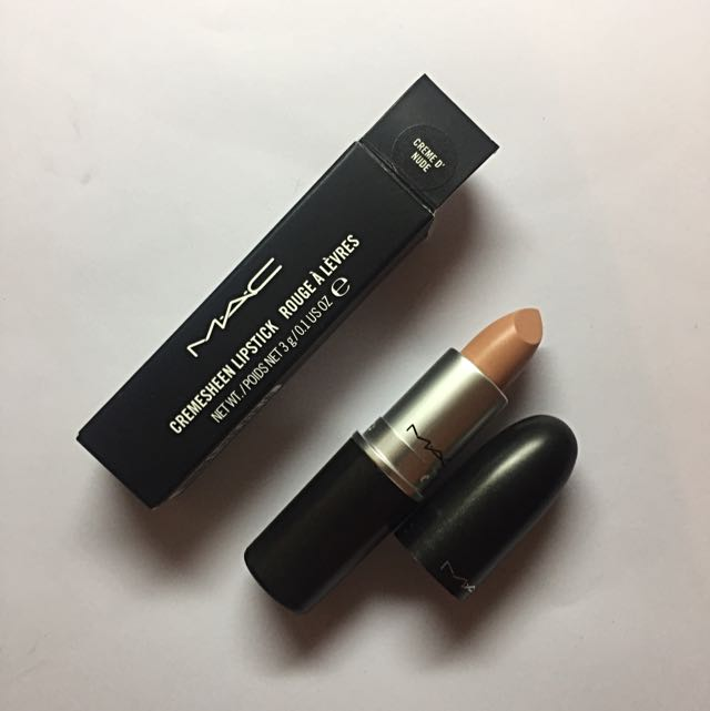 NEW: M.A.C Nude Cremesheen Lipstick