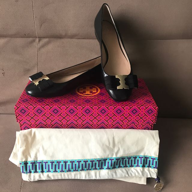 NEW TORY BURCH GEMINI FLAT SHOES SIZE 5,5