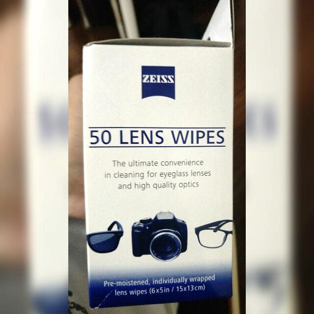 ⚠NEW! Zeiss 50 Cleaning Wipes For Lenses Or Electronic Gadget Screen