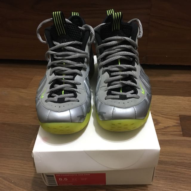 Nike Air Foamposite One PRM 銀迷彩 Us 8.5