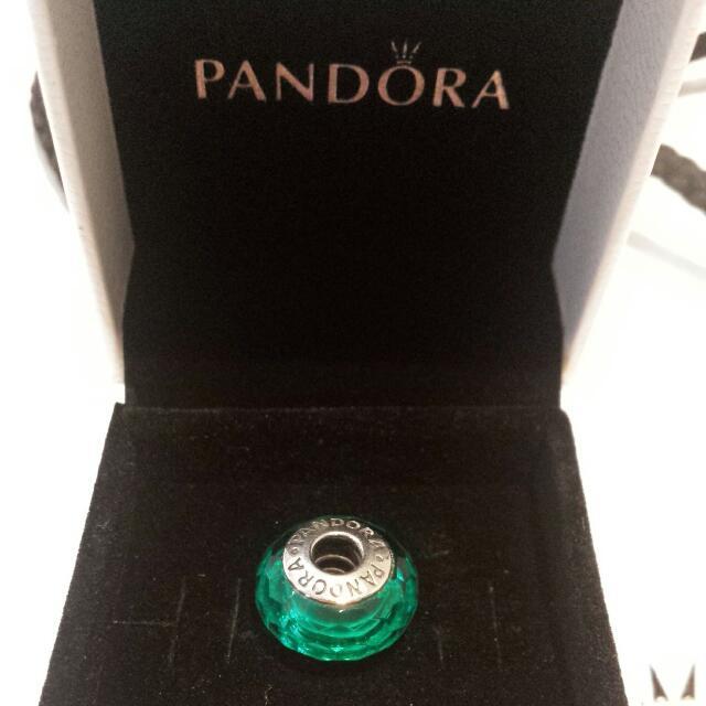 Pandora Teal Charm