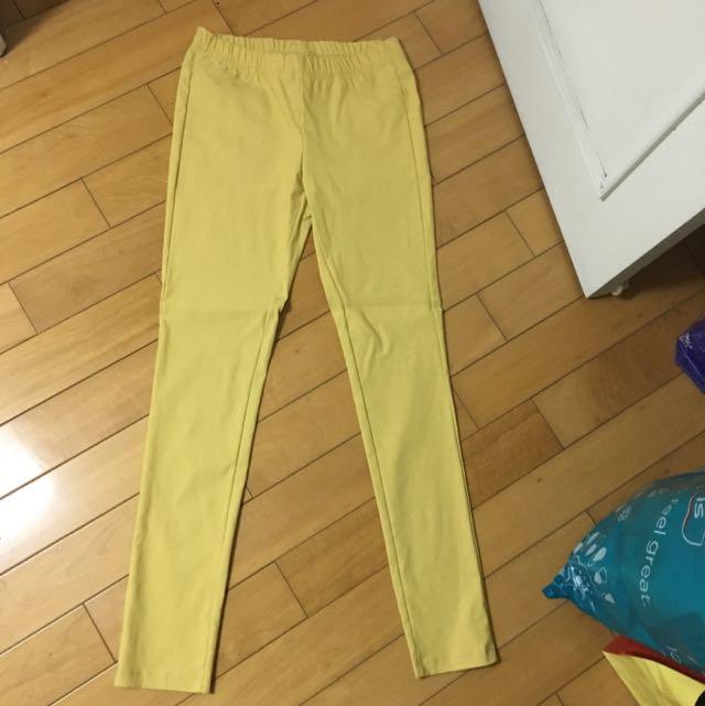 Pazzo色褲 黃色