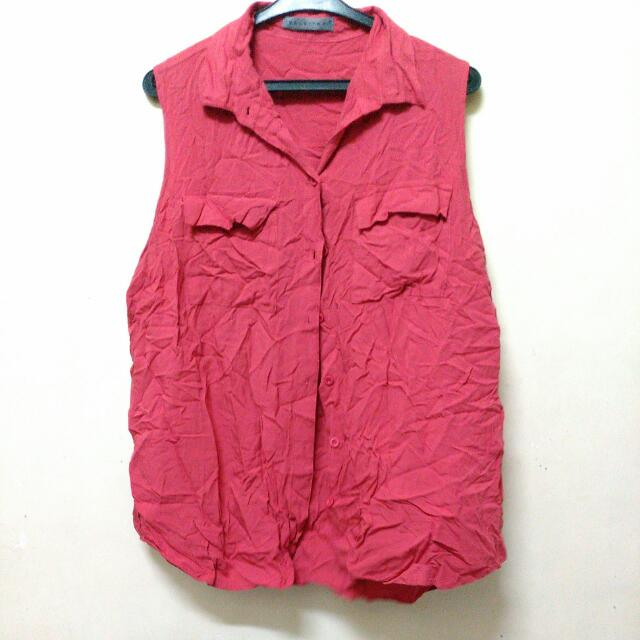 Pre loved Red Maldita Top