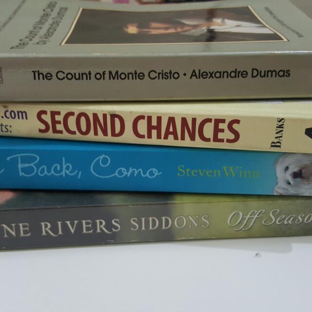 Preloved Books Cheap Set Of 4 Cebu