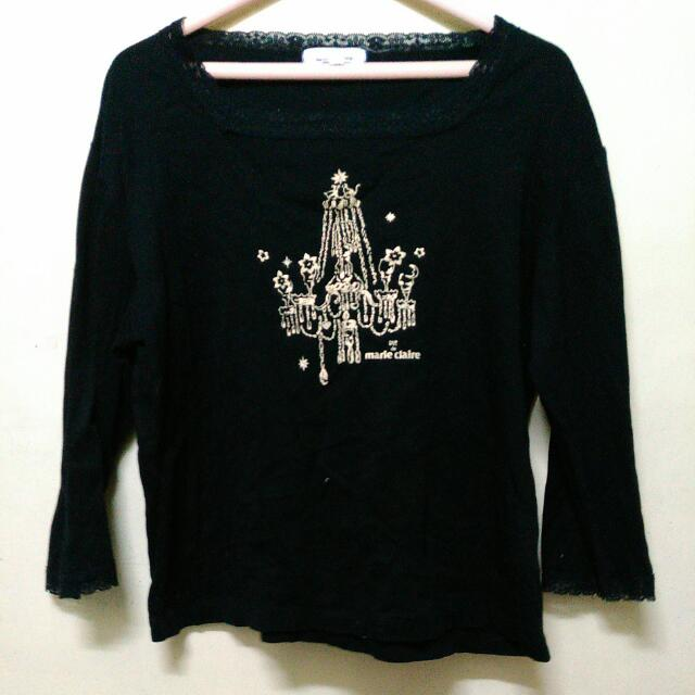 Preloved long sleeve Black