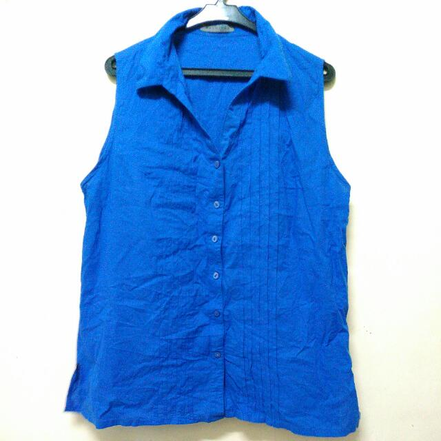 Preloved Maldita Blue Top