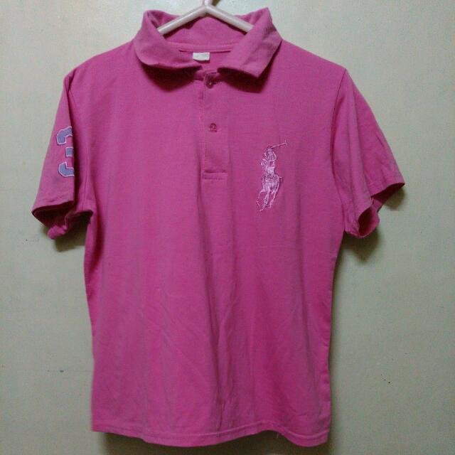 Preloved Pink shirt