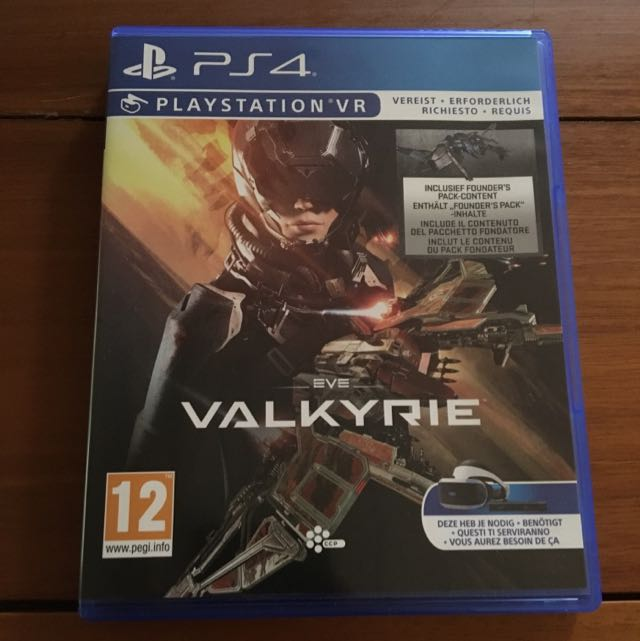 PS4 VR Eve: 女武神 (Valkyrie)