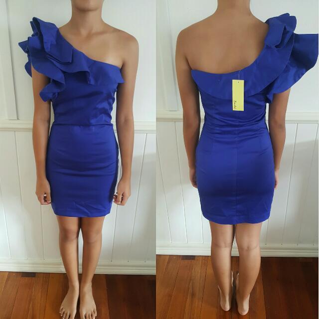 Purple/Blue Cocktail Dress
