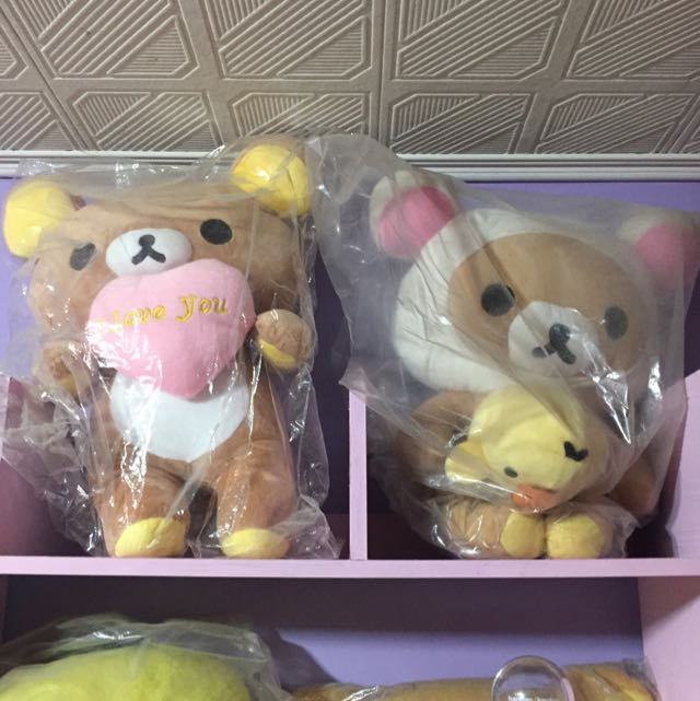 Rilakkuma 拉拉熊 娃娃 兩隻一起