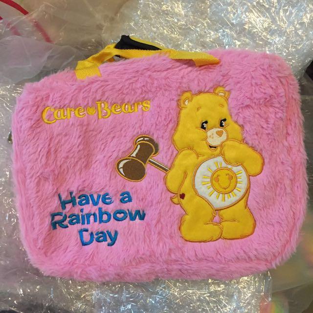 Sample sale : 出口台灣 電腦袋 迪士尼 愛心熊 Care Bears Valentine 公仔 Duffy bear Disney Winnie The POOH