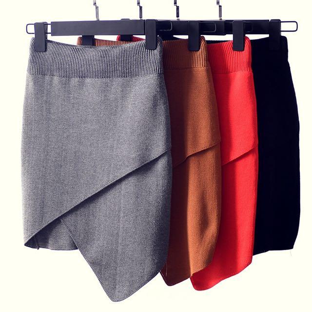 Side Slit Wrap Skirt