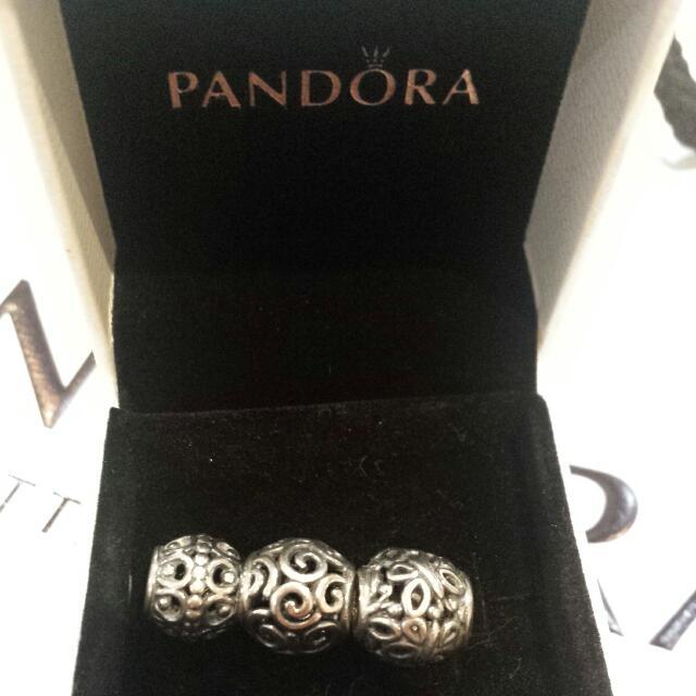 Silver Pandora Charms