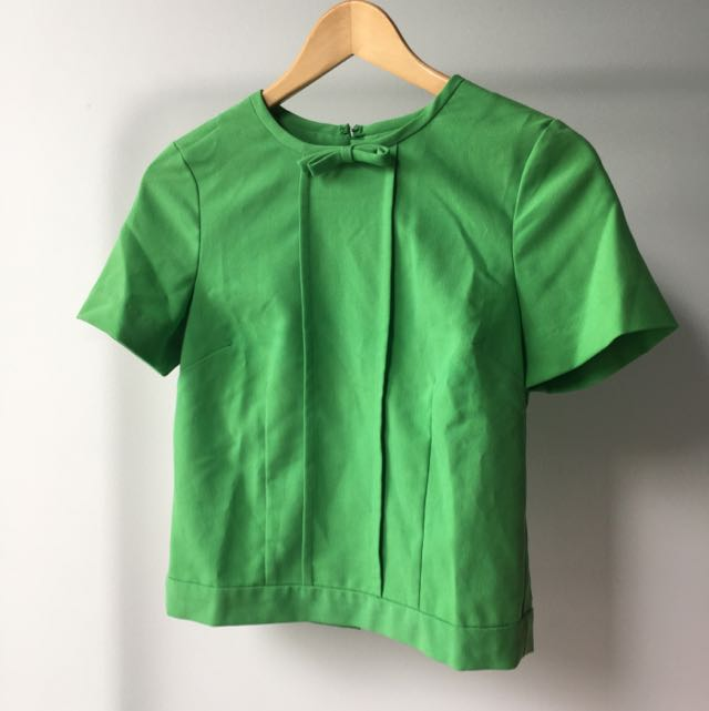 Size 8 ASOS Green Blouse