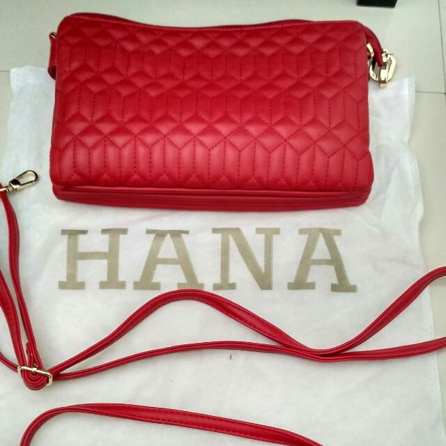 Sling Bag Hana Merah