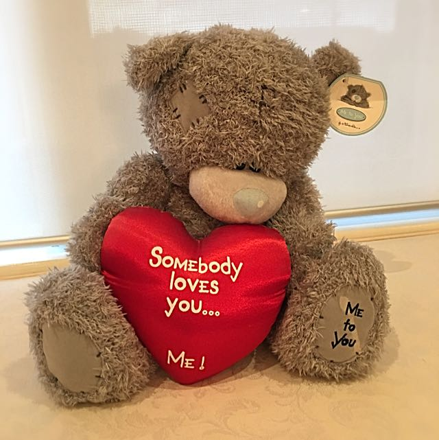 """Somebody Loves You"" bear"